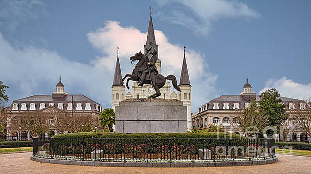 Jackson Square by Jerry Fornarotto