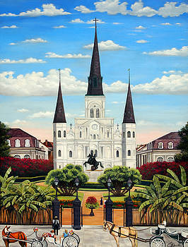 Jackson Square by Judy Merrell