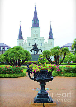 Chuck Kuhn - Jackson Square St. Louis Cathedral
