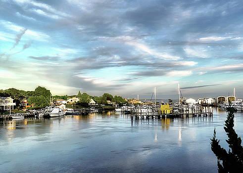 Hampton Bays Marina by Jim Hill