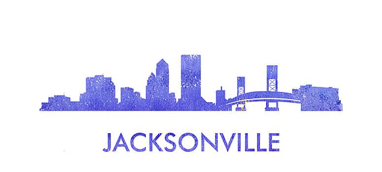 Vyacheslav Isaev - Jacksonville city purple skyline