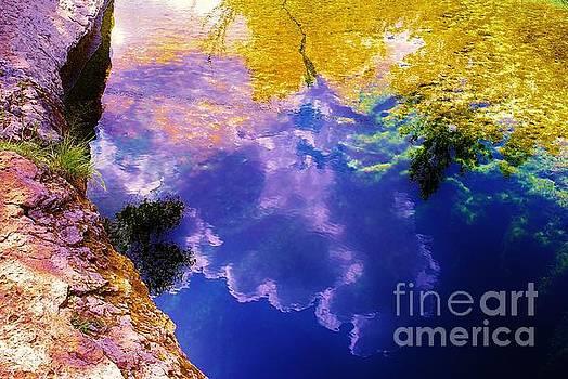 Jacob's Well, near Austin, Texas by Chuck Taylor