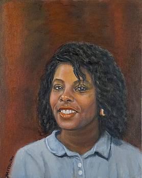 Jacqueline by Mitzisan Art LLC