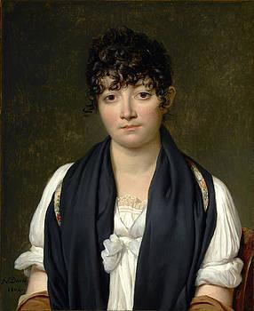 Jacques-Louis David - Suzanne Le Peletier de Saint-Fargeau by Bishopston Fine Art