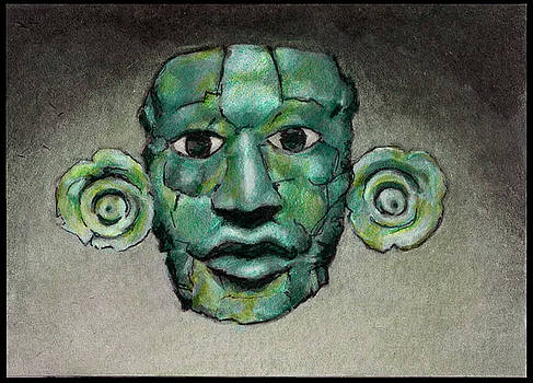 Jade Mask by Noelle Magana