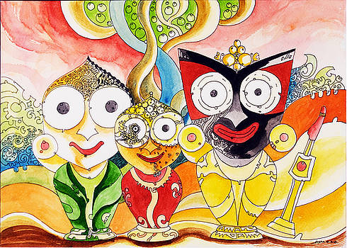 Jagannath Shuvadra and Valaram by Ayan  Ghoshal