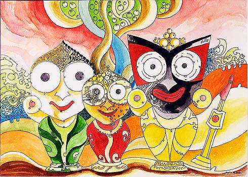 Jagannath Shuvadra and Valaram by Ayan  Ghoshal