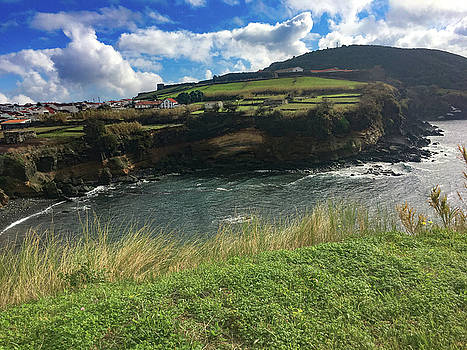 Jagged Coast of Terceira by Kelly Hazel