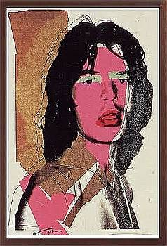Jagger Fs II.143 by Andy Warhol