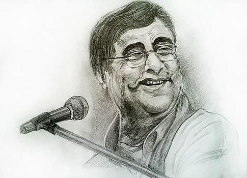 Jagjit Singh by Mayur Sharma
