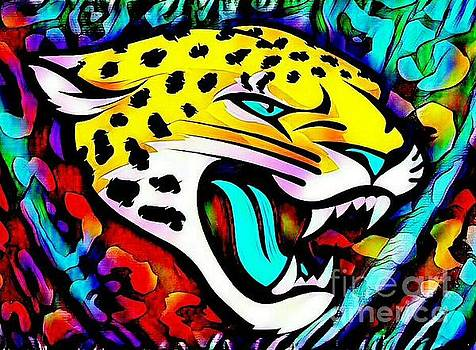 Jags head by Clint Day