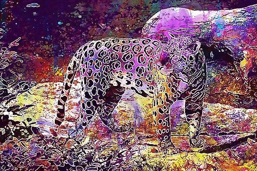 Jaguar Animal Zoo Nature Feline  by PixBreak Art