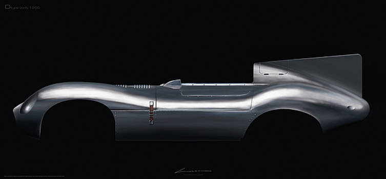 Jaguar Dtype body by Luc Cannoot