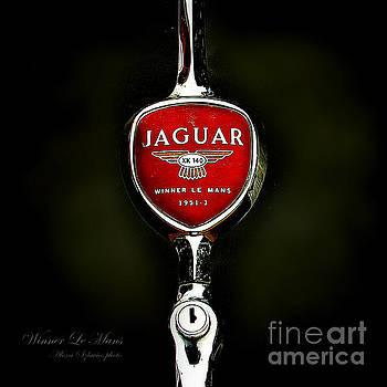 Alexa Szlavics - Jaguar logo