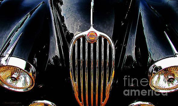 Alexa Szlavics - Jaguar Old automobile