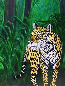 Jaguar by Vickie Wooten