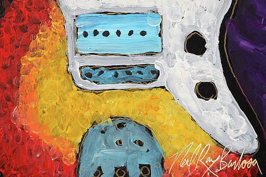 jaguire Guitar by Neal Barbosa