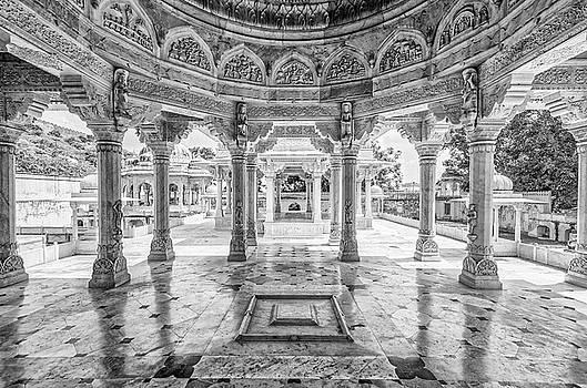 Tony Crehan - Jai Singh Mausoleum - Royal Gaitor - Jaipur - India