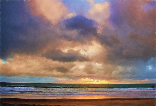 Jalama Sunset by Lynn Andrews