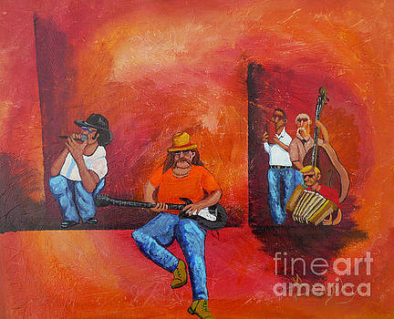 Jam Session by Anthony Dunphy