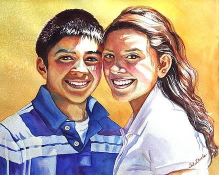 James and Bella by Gail Zavala