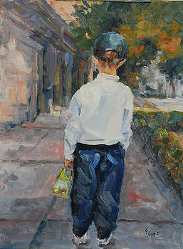 James Boy's First Day of School by Gary Gore