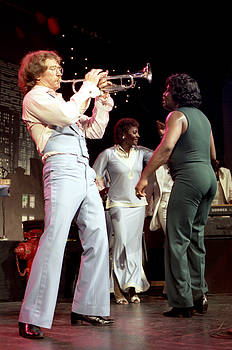 James Brown, with Hollie Farris and Martha High by Nancy Clendaniel