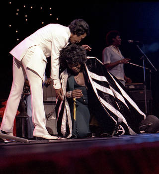 James Brown with Danny Ray, The Cape Man by Nancy Clendaniel