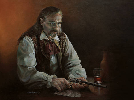 James Butler - Wild Bill Hickok by Chris Collingwood