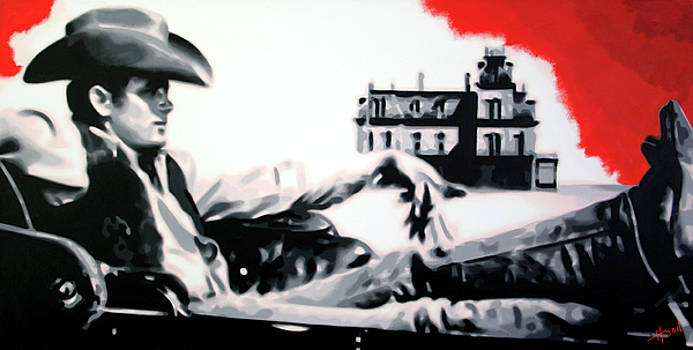 James Dean Giant by Hood alias Ludzska