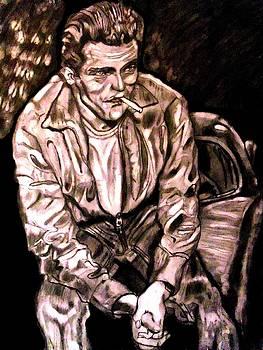 James Dean by Herbert Renard