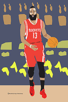 James Harden by Michael Chatman