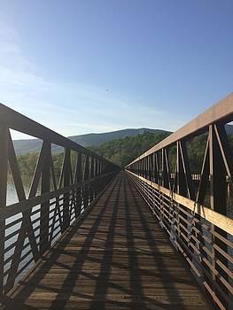 James River Foot Bridge by William Sullivan