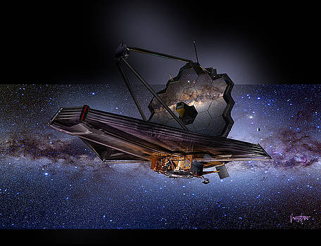 James Webb Space Telescope by James Vaughan