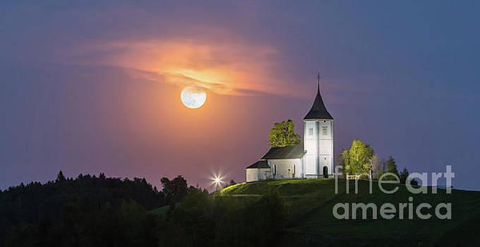 Jamnik Church, Slovenia by Henk Meijer Photography