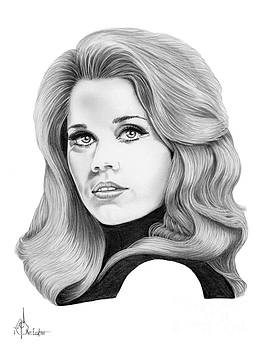 Jane Fonda by Murphy Elliott