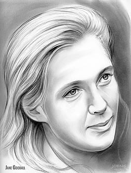 Jane Goodall by Greg Joens