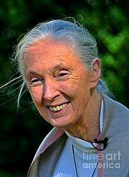 Jane Goodall  by Pd