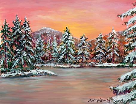Janes Winter Cabin by Ave Hurley