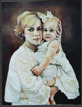 Janice and Amelia by Teresa Carter