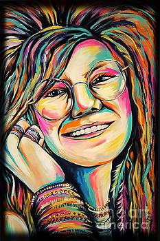 Janis Joplin by Amy Belonio