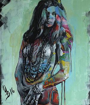 Janis Joplin by Inna Volvak