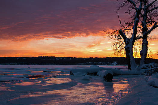 January Dawn at Esopus Meadows II by Jeff Severson