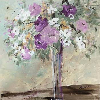 January Floral by Terri Einer
