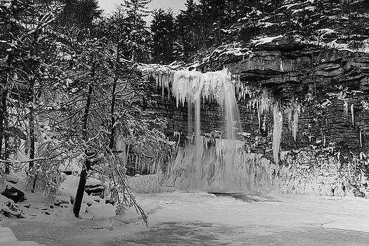 January Morning at Awosting Falls II by Jeff Severson