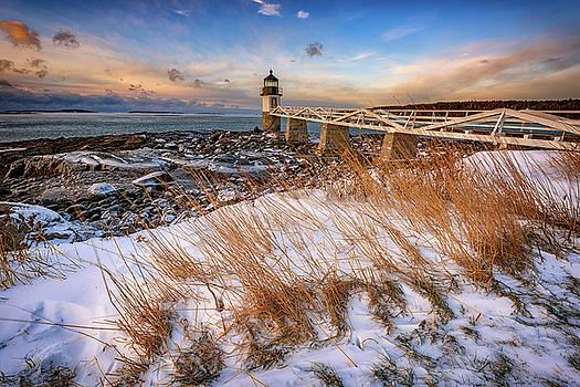 January Morning at Marshall Point by Rick Berk