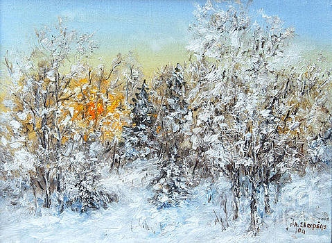 January sunset by Arturas Slapsys