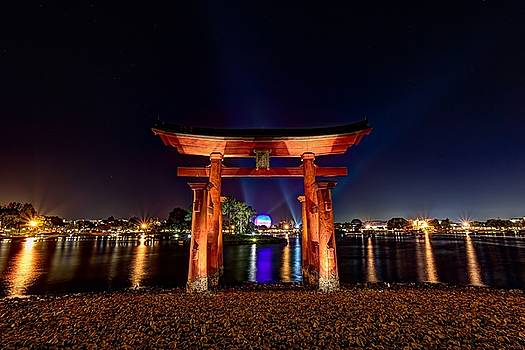 Japan Pavilion, Epcot, Walt Disney World, Lake Buena Vista, Florida by James Wellman