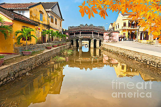 Japanese Bridge in Hoi An - Vietnam by Luciano Mortula