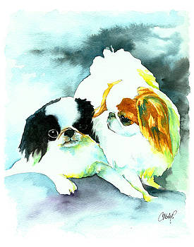 Christy  Freeman - Japanese Chin Dog
